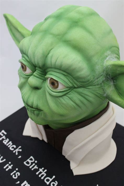 ideas  yoda cake  pinterest star wars