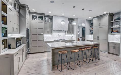 gray kitchen cabinets with hardwood floors gray kitchen cabinets design ideas designing idea