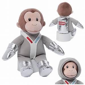 Curious George Astronaut 14-Inch Plush - Gund - Curious ...