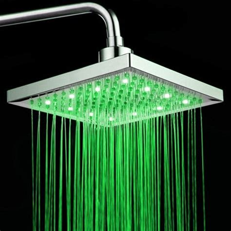 light up shower shower heads that light up and change colors pimp my