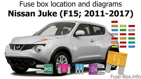 Fuse Box Location Diagrams Nissan Juke