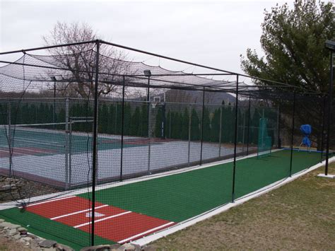 home batting cages residential batting cage backyard batting cage 1654