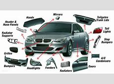 Car Body Parts Names With Diagram Manifest Car Parts With