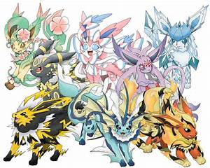 Pokemon SM Daily Evolution Poll Day 26: Flareon/Jolteon ...