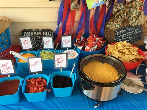 Walking Taco And Nacho Bar Party Foods And Ideas