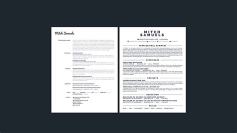 I Need A Free Resume Builder by 15 Useful Free Resume Generators Bashooka