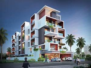 Architectural, Apartment, Rendering