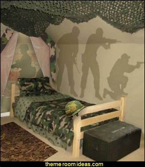 Decorating Theme Bedrooms  Maries Manor Camouflage