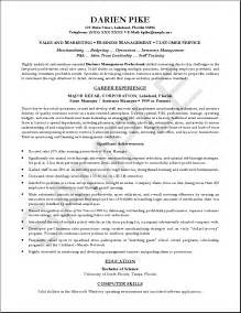 professional it resume sle cover letter format for resume cover letter sle