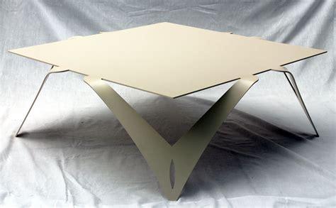 table basse bout de canapé table basse blanche ivoire table basse carrée design métal