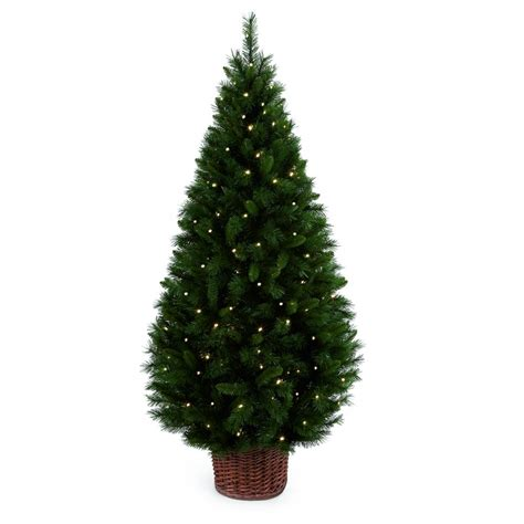 pre lit trees led 28 images home accents 6 5 ft pre