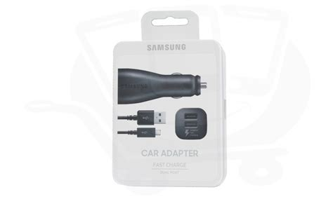 Oem Samsung Fast Dual-port Car Charger W/micro,type C Usb