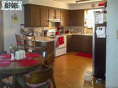 Kitchen Remodel Cabinets Update Budget Trim Cabinet