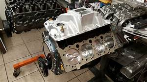 High Performance 350 Small Block Chevy Engine Machine Work