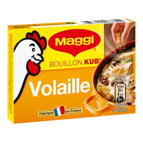 cuisine girolles bouillon kub volaille maggi
