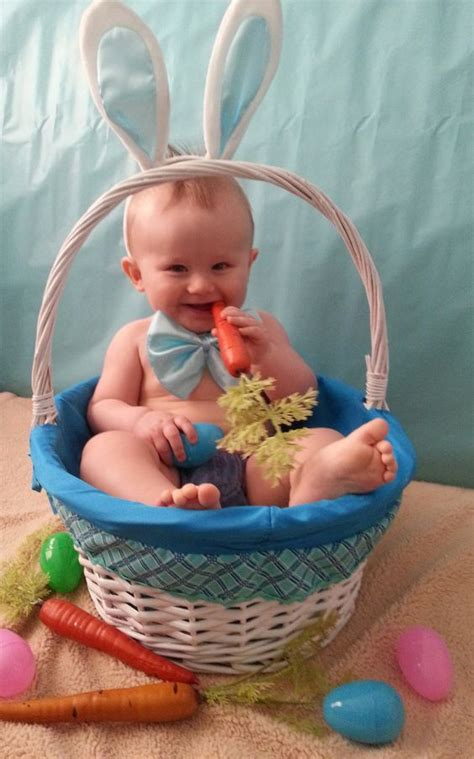cute easter baby photo moments  capture pinterest