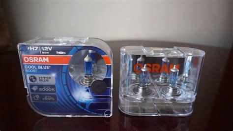 osram cool blue h7 osram cool blue boost 5000k vs cool blue 4200k