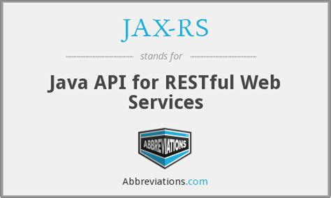 Java Api For Restful Web Services