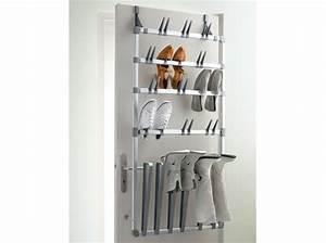 Porte Chaussures Ikea : rangement chaussures mural fly ~ Teatrodelosmanantiales.com Idées de Décoration
