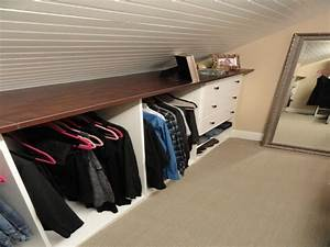Small cozy bedrooms, attic storage shelves attic closet