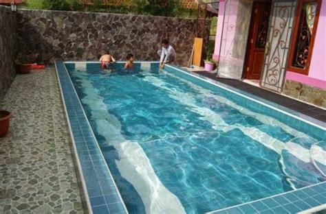 tips keren bikin denah rumah  kolam renang