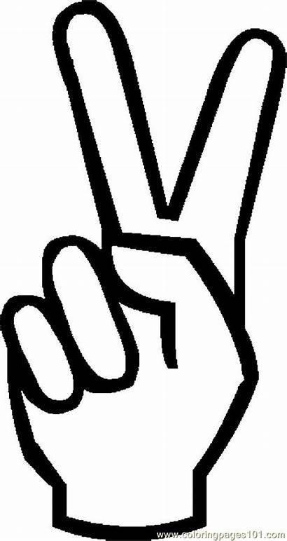 Peace Symbol Coloring Pages Coloringpages101