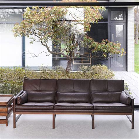 low back settee low back sofa by bassamfellows coup d etat