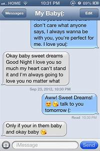 Sweet text messages from someone you love :) | Fun & Girly ...