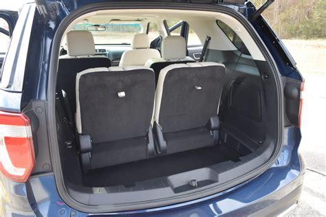 ford explorer interior 2017 ford explorer platinum 4x4 hd road test review