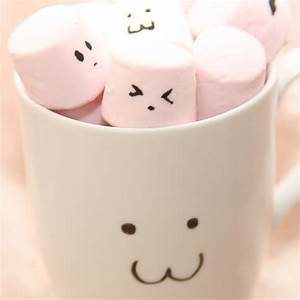 Cute Pink Marshmallow In Cup #iPad #Wallpaper | iPad ...