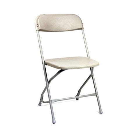 white standard plastic chair act1000