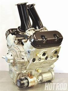 V4 Motorcycle Engine Photo 1