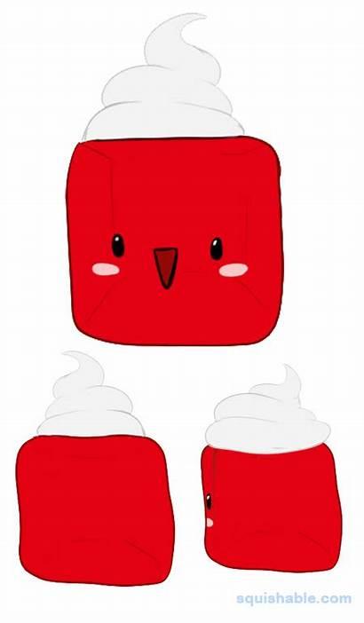 Cube Squishable Jelly Gelatin Voting