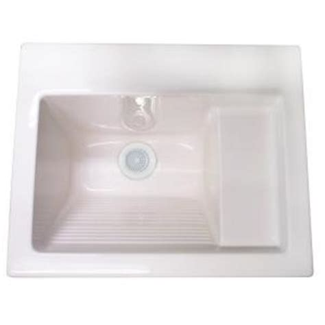 Undermount Laundry Sink Home Depot by Westbrass Del2126at0 Delicate Touch 26 X 22 Acrylic Self