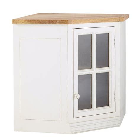 meuble d angle cuisine meuble haut d 39 angle vitré de cuisine ouverture droite en