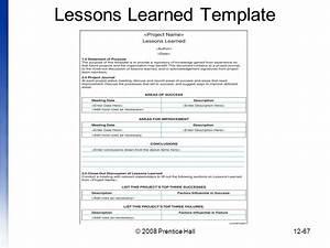 beruhmt pmbok vorlage fotos entry level resume vorlagen With lessons learned template pmbok