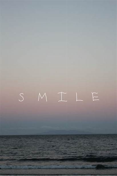 Smile Inspirational Positive Beach Quote Vertical Gifs