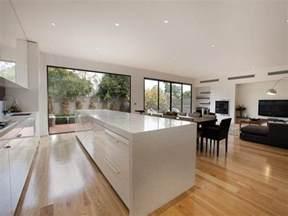 kitchen and dining design ideas modern kitchen dining kitchen design using floorboards kitchen photo 233263