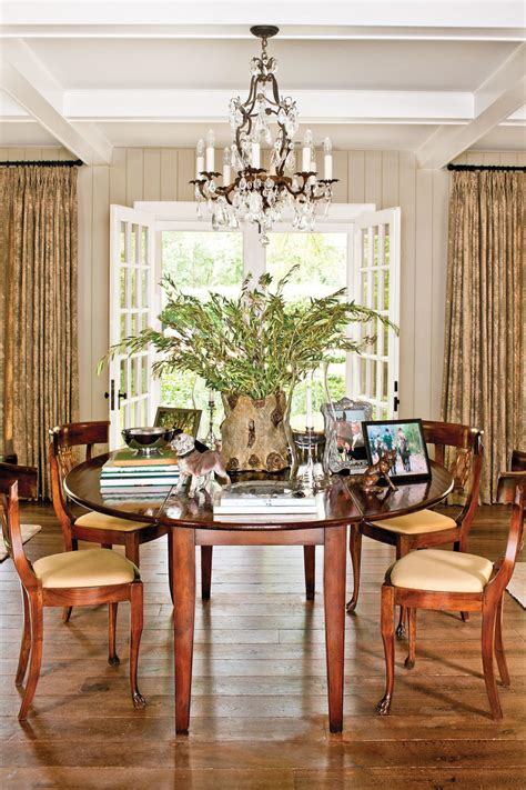 dazzling dining room    makeovers southern