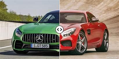 Amg Mercedes Gt Vs Quarter Three Comparison