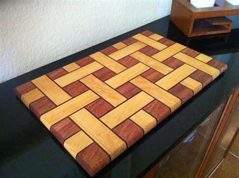 basket weave cutting board  randyatx  lumberjocks