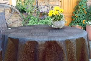 Abwaschbare Tischdecke Rund : abwaschbare tischdecke new york acryl rund anthrazit ~ Michelbontemps.com Haus und Dekorationen