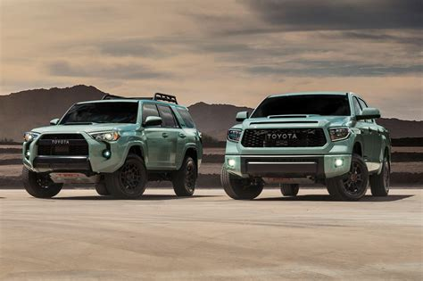 toyota trd pro models updated   carbuzz