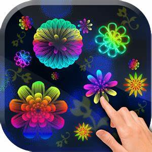 App Neon Flowers Live Wallpaper apk for kindle fire
