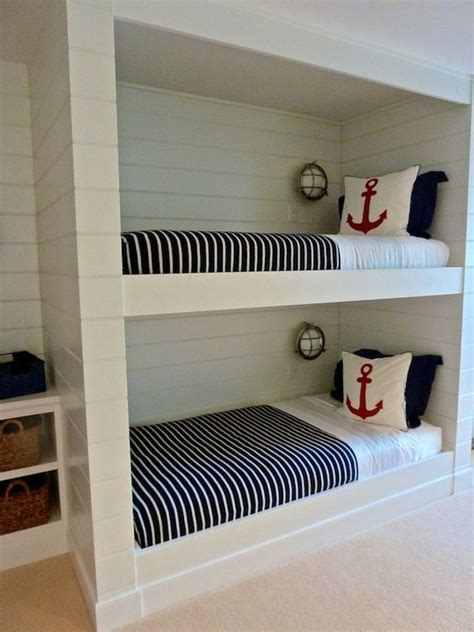 spruce   bedroom   creative beach bunk beds