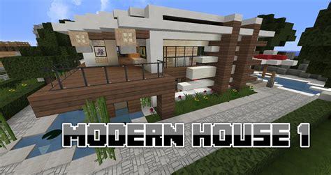 comment faire une maison minecraft moderne 233 quipement de maison