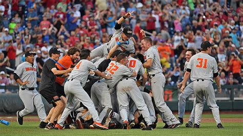 The wallace state lions compete in division i of the alabama community college conference and the national junior college athletic association. Road to the 2019 College World Series: NCAA baseball ...
