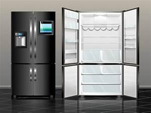 Sidebyside kuhlschrank haus planen for Sidebyside kühlschrank