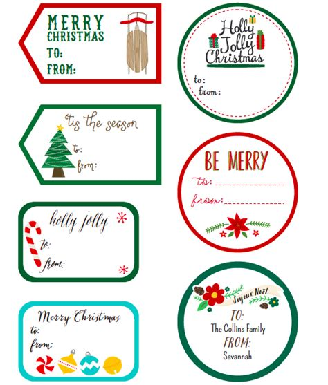 whimsical christmas labels  angie sandy worldlabel blog