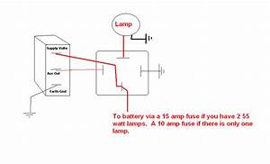 Wiring Relay For Fog Lights  Switch To 12 Vdc